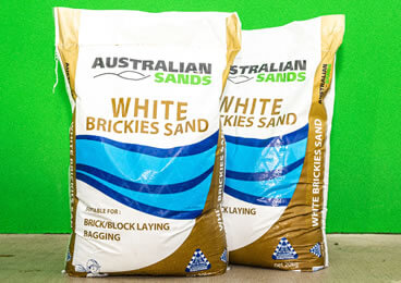 White Brickies Sand 20kg