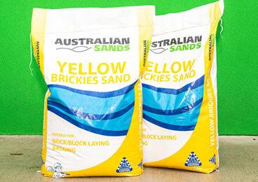 Yellow Brickies Sand 20kg
